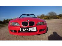 BMW Z3 1.9 Bright Red coilover suspension 1 year MOT Service History WOKING, SURREY