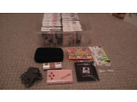 Nintendo DS Lite Pink . Bundle pack .Excellent Condition
