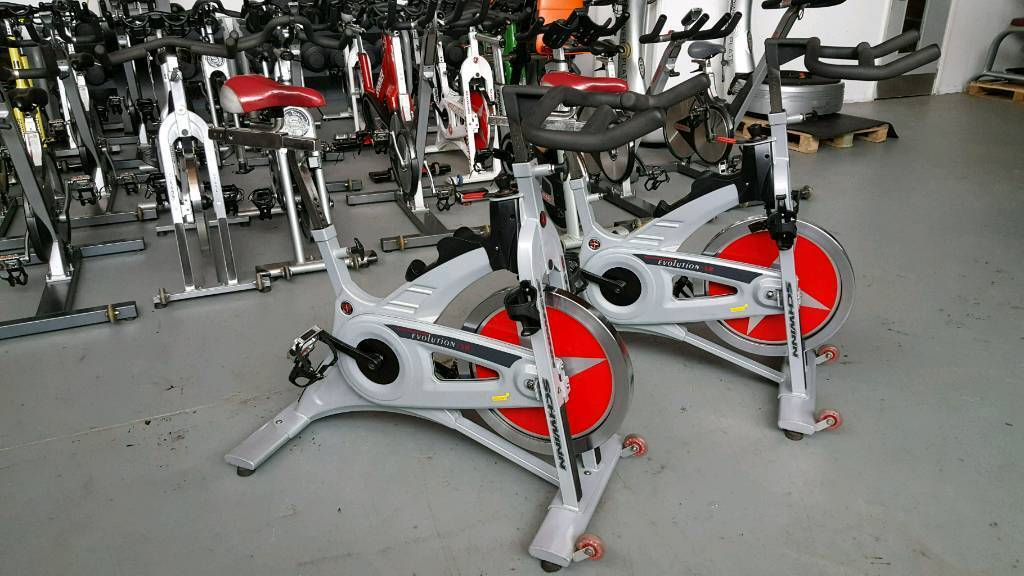 SCHWINN EVOLUTION SR SPINNING BIKE FULLY SERVICEDin Northampton, NorthamptonshireGumtree - ANY QUESTIONS PLEASE FEEL FREE TO CONTACT ALLISON ON 07476070820 FOR SPEEDY REPLY.OR FOLLOW US ON FACEBOOK.PLEASE NOTE THIS SALE IS FOR ONE BIKE 4 AVAILABLEWARRANTY IS FOR HOME USE ONLYNO FOR GYMS OR SPINNING CLASSESHI HERE WE HAVE A FULLY...
