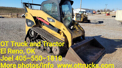2008 Caterpillar 297c Track Skid Steer Loader Tractor Cab Ac New Tracksaxles