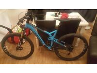 Mountain bike for sale. Cannondale trigger 4 2015 model