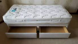 Silent night single divan bed for salw