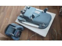 Holbeck vintage projector boxed with power lead and conaul film editor both 8mm models