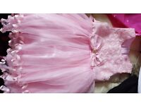 Cute Pink Flower girl dress, age 3-4, Quick Sale