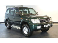 2002 52 TOYOTA LAND CRUISER 3.0 GX 8-SEATS D-4D 5D AUTO DIESEL*PART EX WELCOME*24 HOUR INSURANCE