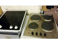 Electric ceramic and hotplate hobs from £30