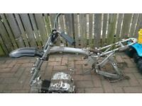 Pit bike frame, 90cc engine for sale
