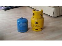 Gas Bottles for camping stoves etc x 2