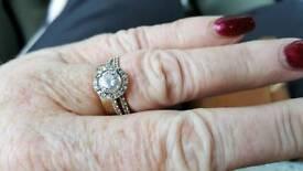Stunning tru diamond ring.