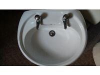Bathroom sink. Hardly used.