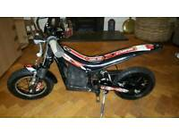 Oset 12.5 electric trials motorbike
