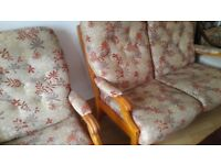 Perfect condition designer 2 seater and 2 armchairs