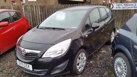 CAR FINANCE SPECIALISTS Vauxhall MERIVA ,Stirling,Falkirk,Perth