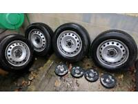 Renault Trafic steel wheels