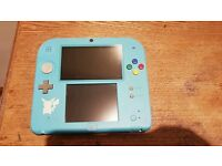 2DS Console Limited Edition with Pokemon Sun Mint Condition