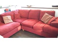 L-Shaped super indulgent sofa