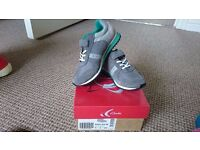 Clarks Super Jog infant size 9F shoes/trainers [New & Boxed]