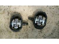Shimano PD M424 double sided spd pedals