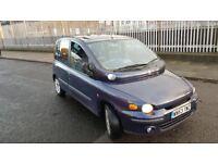 for sale FIAT MULTIPLA 115 ELX 1.9 JTD 11 months MOT full service history