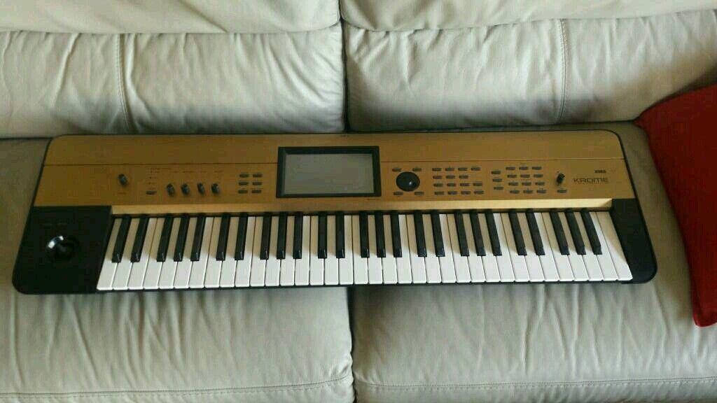 Korg Krome workstation keyboard (gold edition) | in Bridge of Don, Aberdeen  | Gumtree