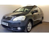 2002 | AVENSIS VERSO 2.0 D-4D GLS | ONE OWNER FROM NEW | FRONT+REAR SUNROOF |7 MNTHS MOT | HPI CLEAR