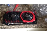 Brand new MSI GTX 1060 6gb