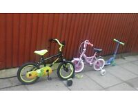 brand new kids bike 1 for 7.50 or 3 for 15 pound