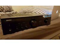 Stereo Speaker System (Denon PMA720AE Amplifier & 2x Skytronic SHFT57B Floorstanding Tower Speakers)