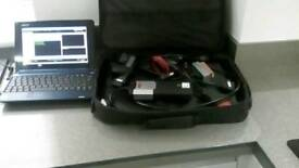 Diagnostic kit including diagnostic interface and netbook