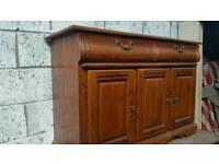Oak side board / dresser Base