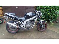 125cc motorbike 2003 hyosung gt comet twin sandbach cheshire
