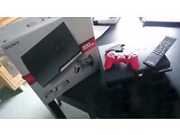 PS3 console with remote control and box + + + Reduced due to time wasters!