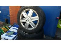 alloys for Renault Megane