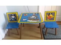 Kids Pirate Table and Chairs