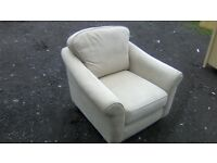 Lovely M&S armchair in good solid condition