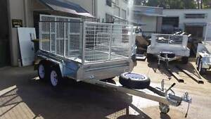 9 X 5 HEAVY DUTY HOT/DIPPED RAMP AND CAGE NEW 2000KG RATED Maroochydore Maroochydore Area Preview