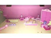 Pink Early Learning Centre Dolls House( New Condition)