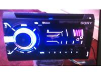 Sony Bluetooth Double Din Aux USB as New