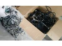 Box of cables and stuff