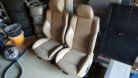 BMW E46 Coupe M Sport 2005r, cream leather Interior, all inside