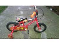 Lighning McQeen bike