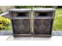 Ohm Amplification VP101 speakers,