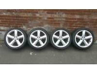 18'' Audi S-Line Alloys & Tyres