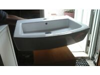 'Roca' Wash hand Basin and half bowl in excellent condition