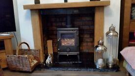 Oak fire surround