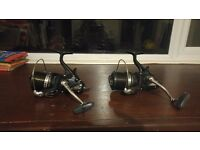 x2 Shimano Medium Baitrunner Longcast XT-A XTA Fishing Reels