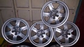 Genuine Audi A5 17 inch wheels