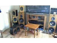 Quality sound and picture,a proper full range sound system