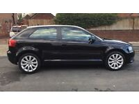 Audi A3 2009 1.6 petrol facelift model, very good condition, full leather interior