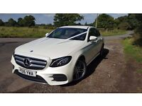 Wedding Car Hire From Just £95. New Mercedes E Class, Bentley, Rolls Royce, BMW, Ferrari, Aston.